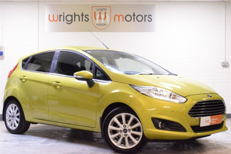 used Ford Fiesta TITANIUM in Norfolk