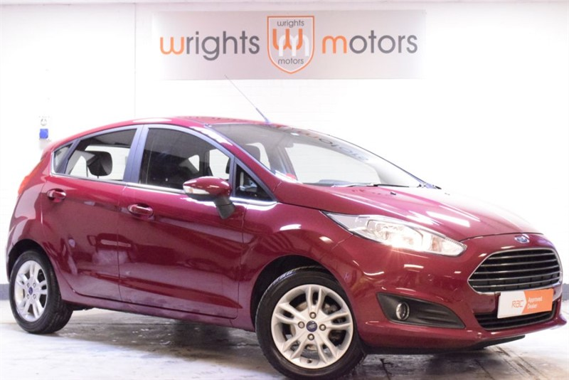 used Ford Fiesta ZETEC - Rare Hot Magenta in Norfolk