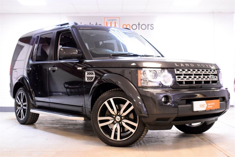 used Land Rover Discovery SDV6 HSE LUXURY REAR DVDS & ONE OWNER in Norfolk