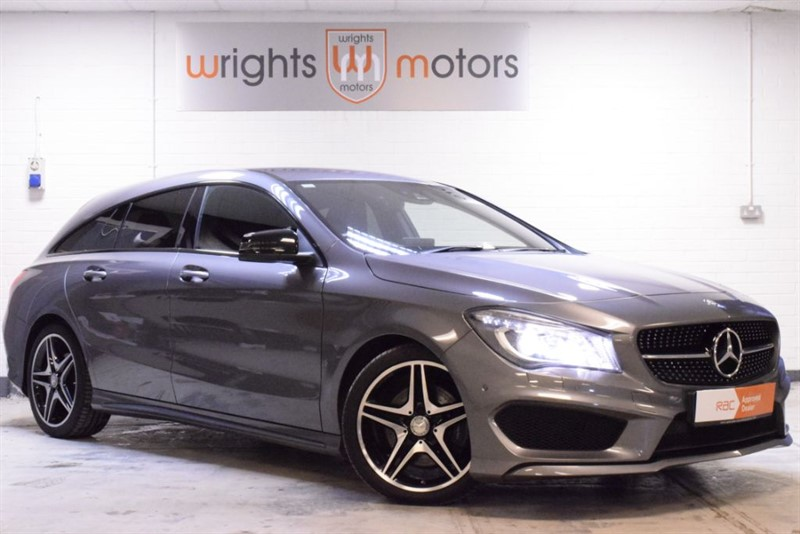 used Mercedes CLA 220 CDI CLA CLA 220 D AMG LINE - STUNNING CAR, COMMAND!! in Norfolk