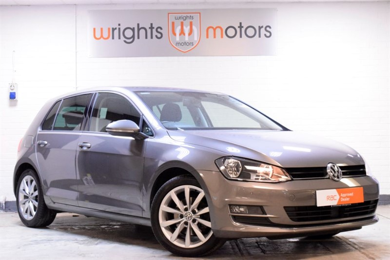 used VW Golf GT TDI BLUEMOTION TECHNOLOGY DSG LOW MILES & ONE OWNER !! in Norfolk