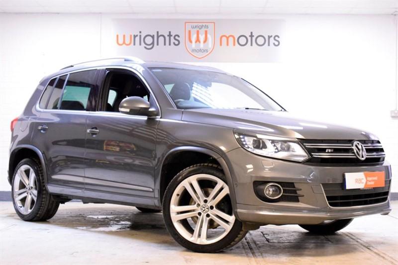 used VW Tiguan R LINE TDI BLUEMOTION TECHNOLOGY 4MOTION GREAT SPEC !! in Norfolk