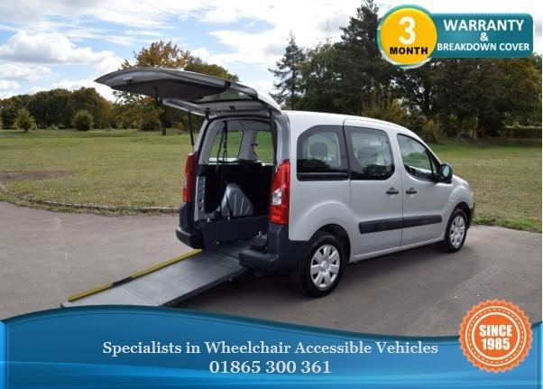 used Citroen Berlingo Multispace Berlingo Wheelchair Accessible Vehicle in in-oxfordshire