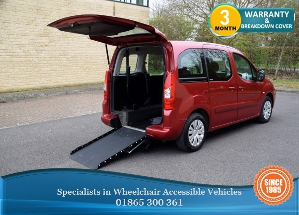 used Citroen Berlingo Multispace E-HDI VTR Wheelchair Accessible Vehicle in in-oxfordshire