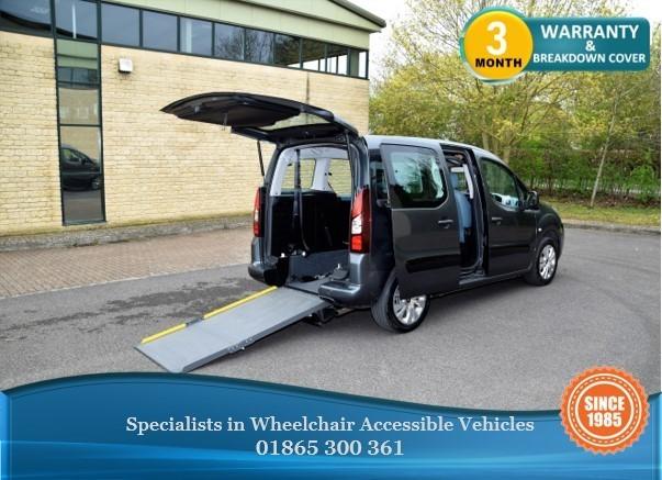 used Citroen Berlingo Multispace 1.6 Diesel Wheelchair Accessible Vehicle, WAV, in in-oxfordshire