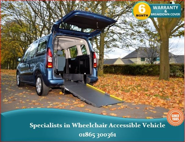 used Citroen Berlingo Wheelchair Accessible Vehicle in in-oxfordshire