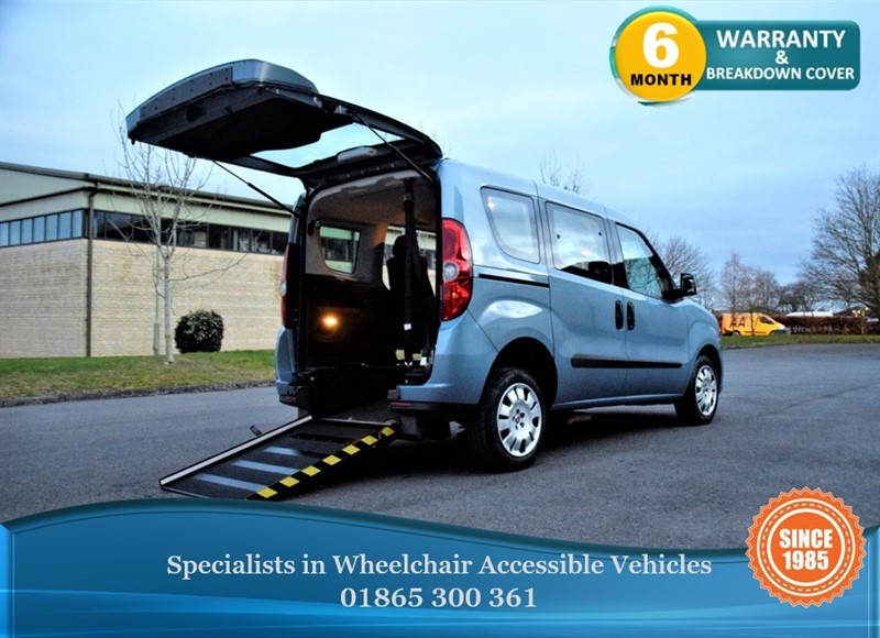 used Fiat Doblo ACTIVE Wheelchair Accessible Vehicle in in-oxfordshire