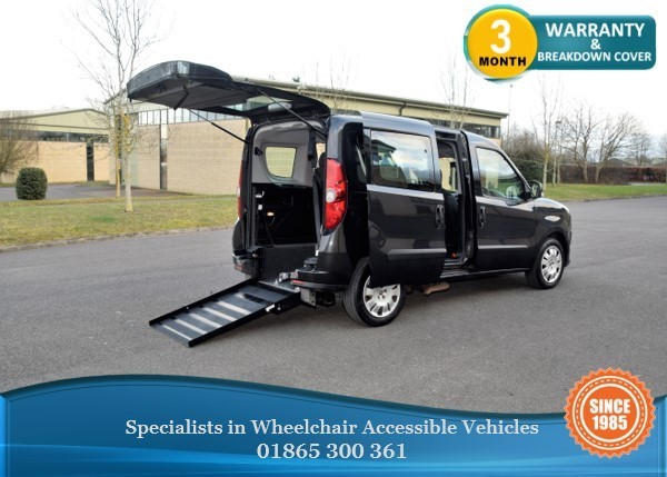 used Fiat Doblo 1.6 Diesel Wheelchair Accessible Vehicle, WAV, in in-oxfordshire