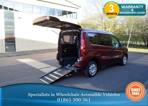 used Fiat Doblo 1.6 Diesel Auto Wheelchair Accessible Vehicle, WAV, in in-oxfordshire