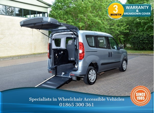 used Fiat Doblo MYLIFE Wheelchair Accessible Vehicle in in-oxfordshire