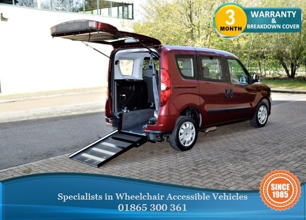 used Fiat Doblo MULTIJET MYLIFE Wheelchair Accessible Vehicle in in-oxfordshire