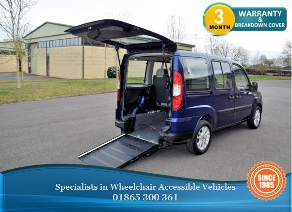 used Fiat Doblo Wheelchair Accessible Vehicle in in-oxfordshire