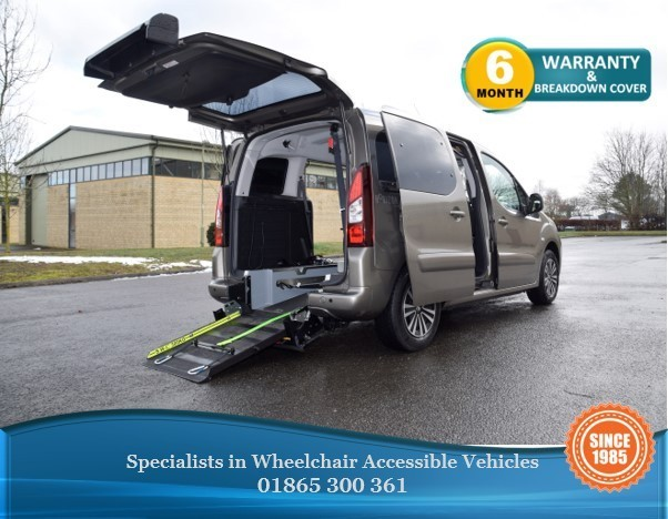used Peugeot Partner Tepee HDI TEPEE S WAV  Wheelchair Accessible Vehicle in in-oxfordshire