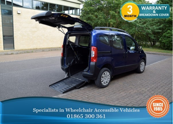 used Peugeot Bipper Tepee Upfront wheelchair accessible vehicle in in-oxfordshire