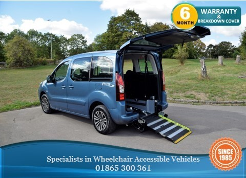 used Peugeot Partner Tepee HDI TEPEE S Wheelchair Accessible Vehicle in in-oxfordshire