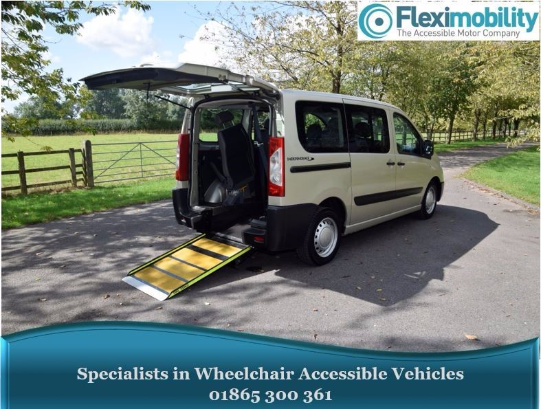 used Peugeot 1007 HDI TEPEE Wheelchair Accessible Vehicle in in-oxfordshire