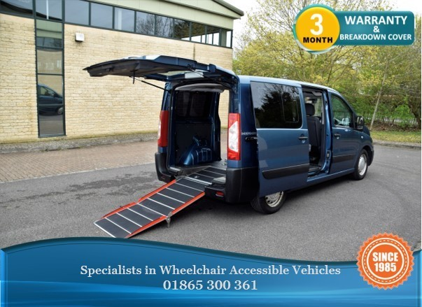 used Peugeot Expert Tepee Wheelchair Accessible Vehicle in in-oxfordshire