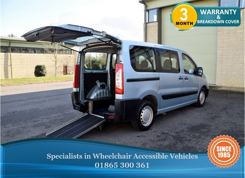 used Peugeot Expert Tepee Comfort 6S Wheelchair Accessible Vehicle in in-oxfordshire