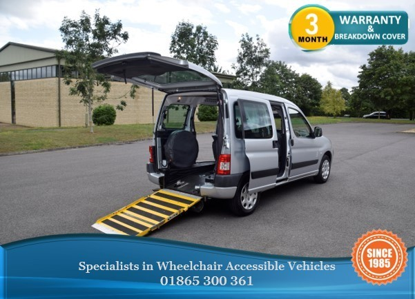 used Peugeot Partner Tepee Wheelchair Accessible Vehicle in in-oxfordshire