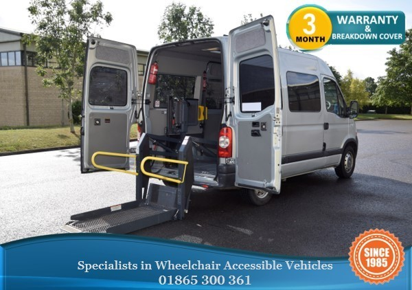 used Renault Master Master Wheelchair Accessible Vehicle in in-oxfordshire