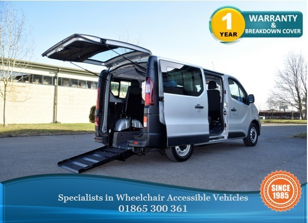 used Vauxhall Vivaro L1H1 2900 Wheelchair Accessible Vehicle in in-oxfordshire