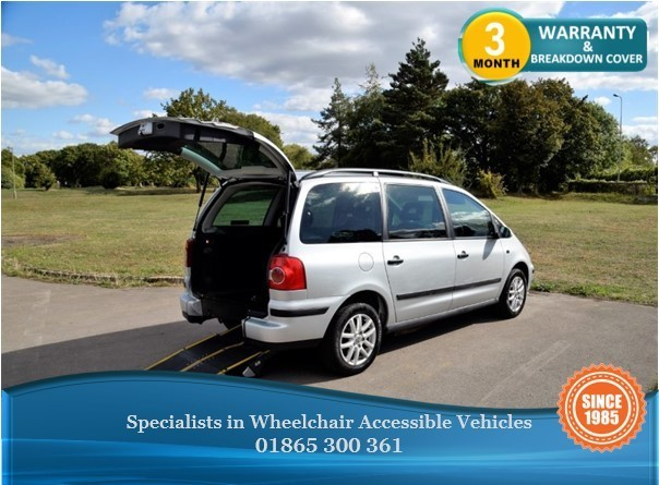 used VW Sharan SE TDI (115BHP) Wheelchair Accessible Vehicle in in-oxfordshire