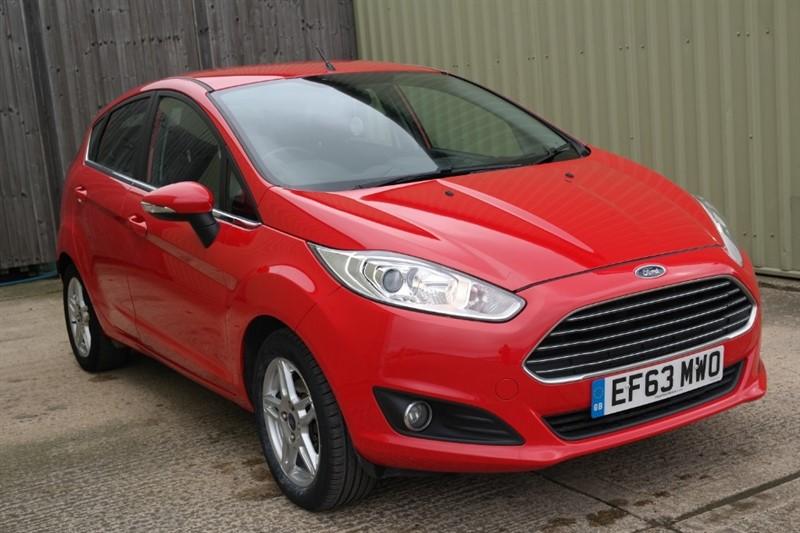 used Ford Fiesta ZETEC in bassingbourn-hertfordshire
