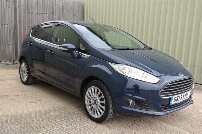 used Ford Fiesta TITANIUM in bassingbourn-hertfordshire