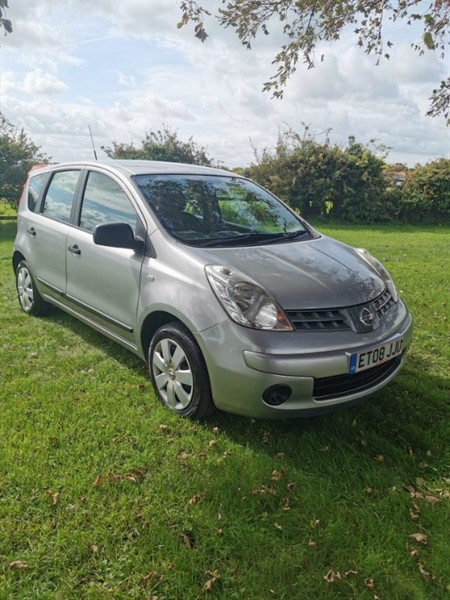 used Nissan Note VISIA in bassingbourn-hertfordshire
