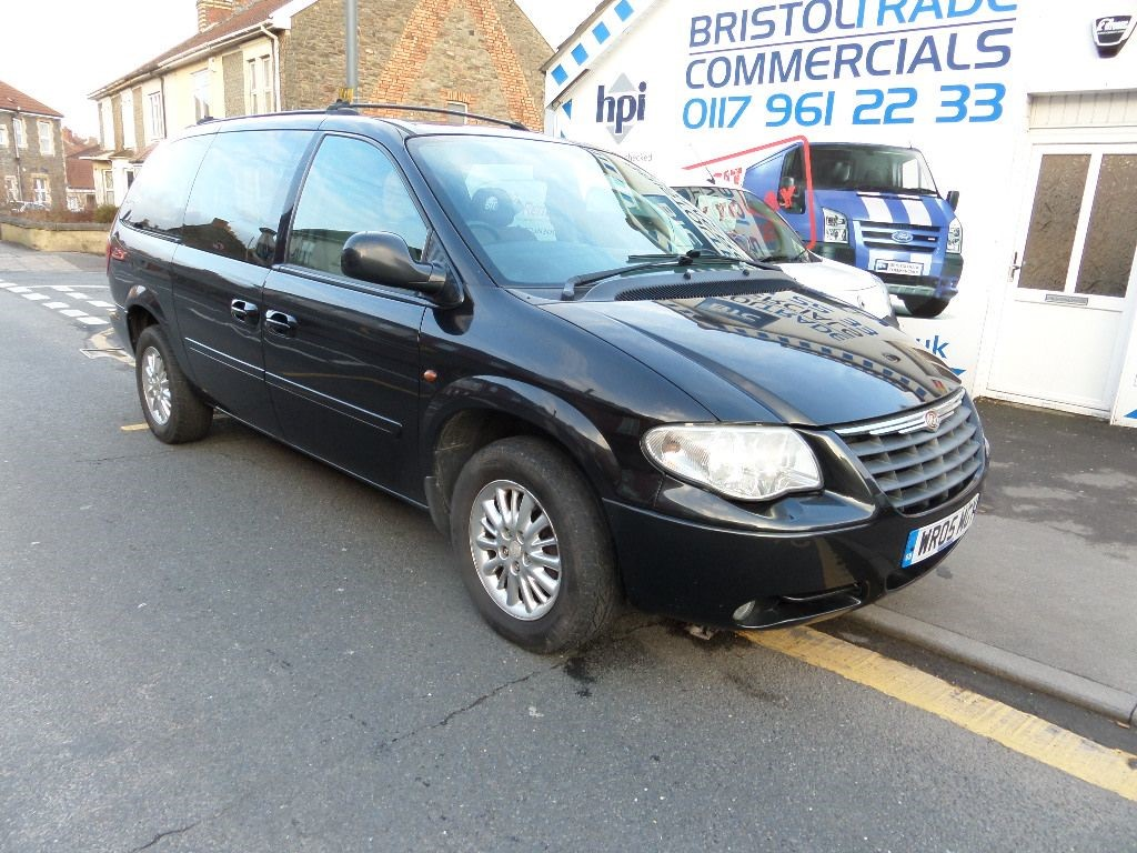 used black chrysler grand voyager for sale bristol. Black Bedroom Furniture Sets. Home Design Ideas