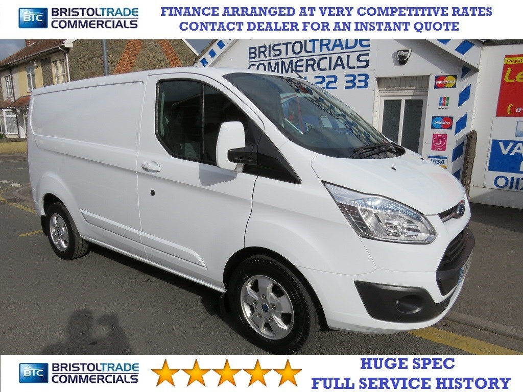 f7490f1716 Used WHITE Ford Transit Custom for Sale