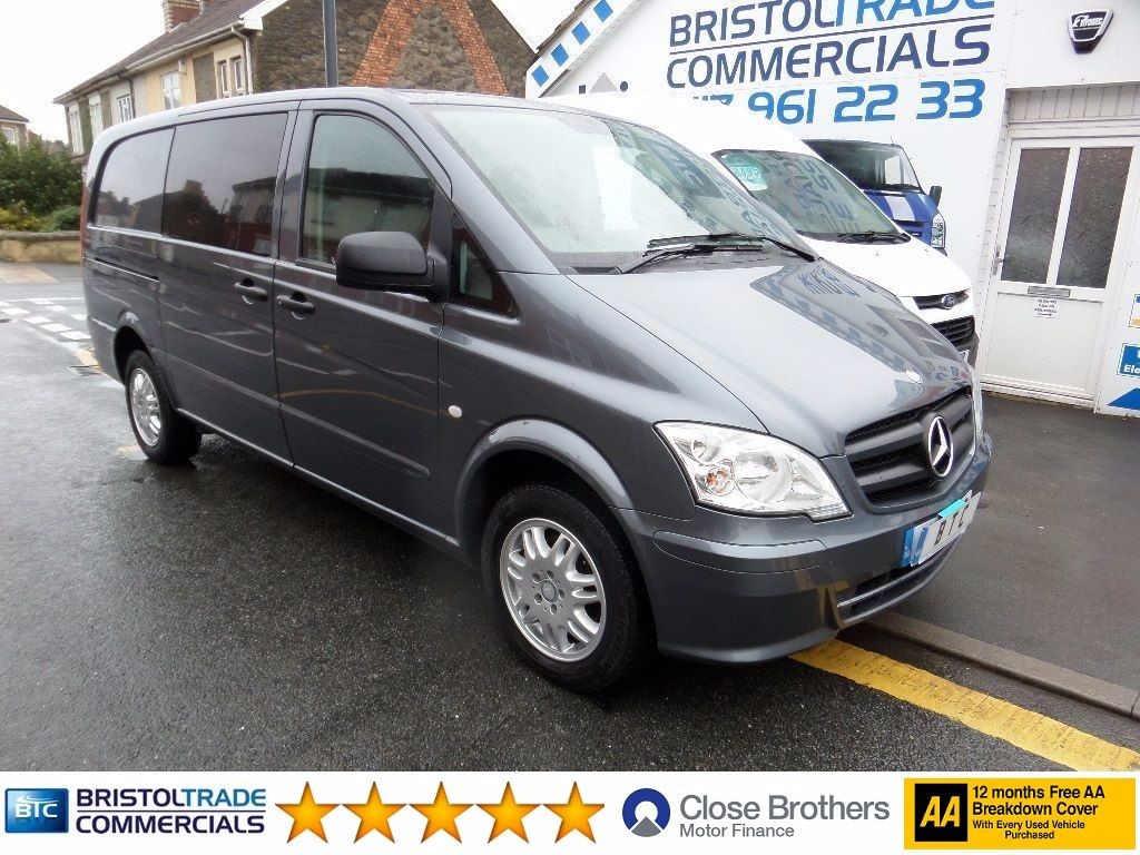 used flint grey metallic mercedes vito for sale bristol. Black Bedroom Furniture Sets. Home Design Ideas