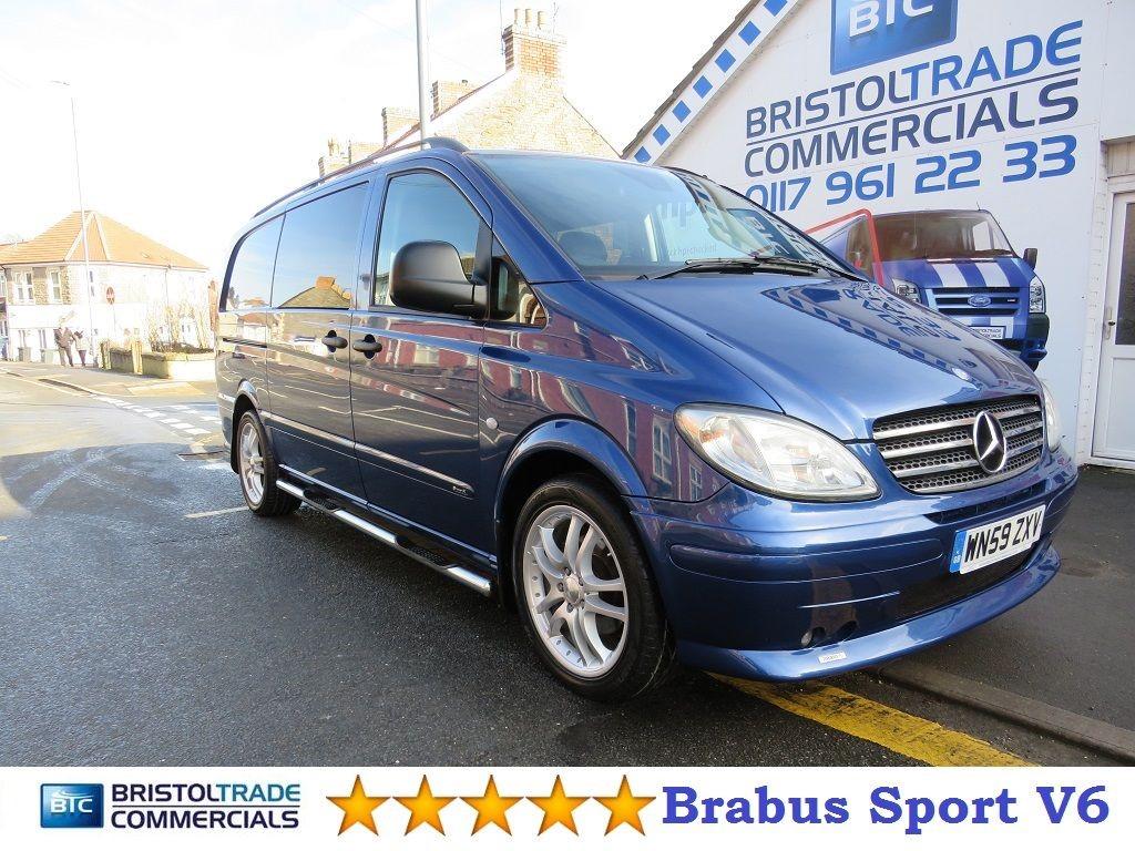 used Mercedes Vito LWB Sport X in bristol