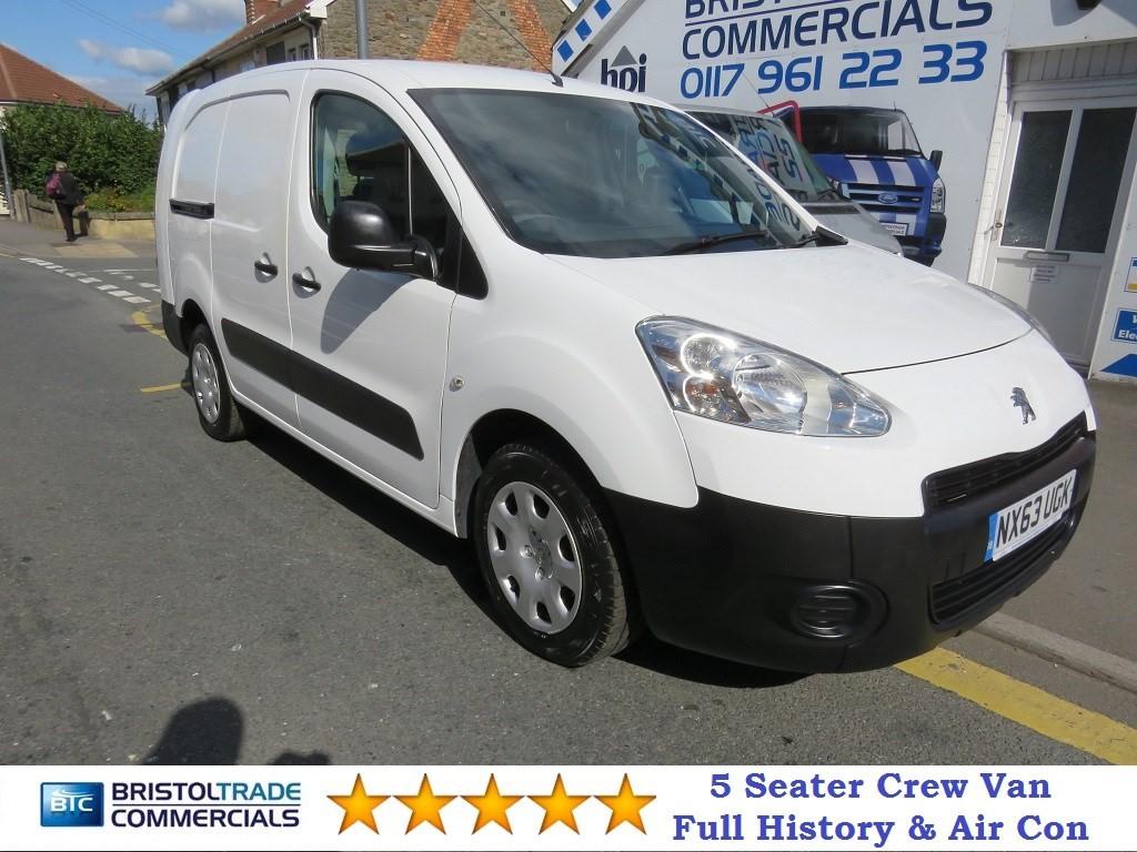 ed975cbe1a Used White Peugeot Partner for Sale