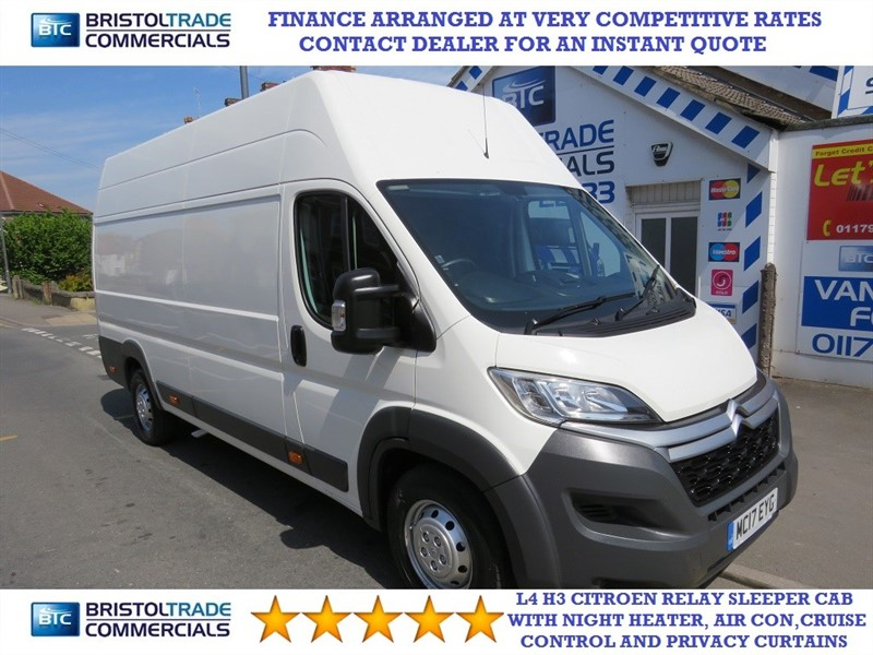 used Citroen Relay 35 HEAVY L4H3 ENTERPRISE BLUEHDI in bristol