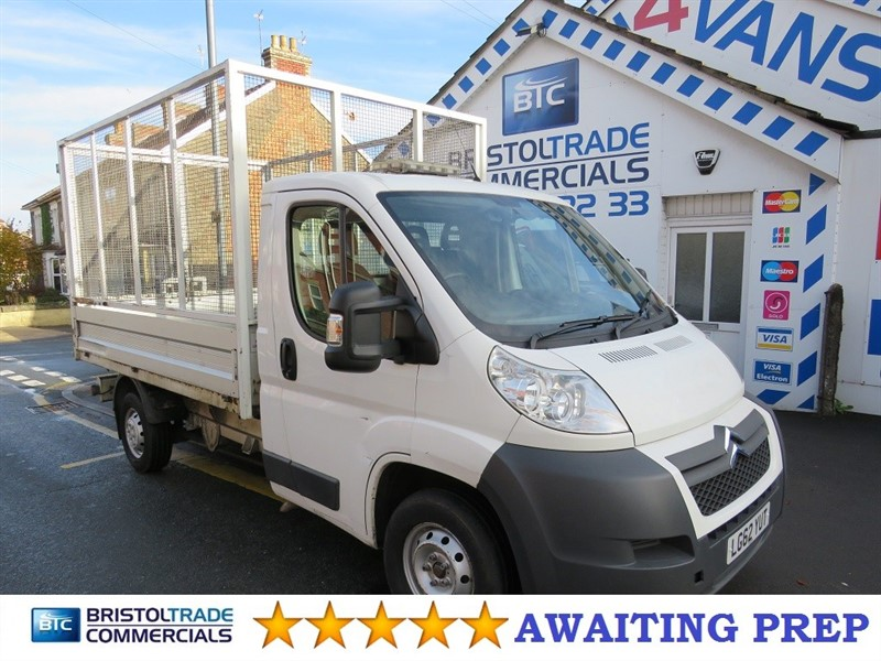 used Citroen Relay 35 L2 Tipper With Cage in bristol