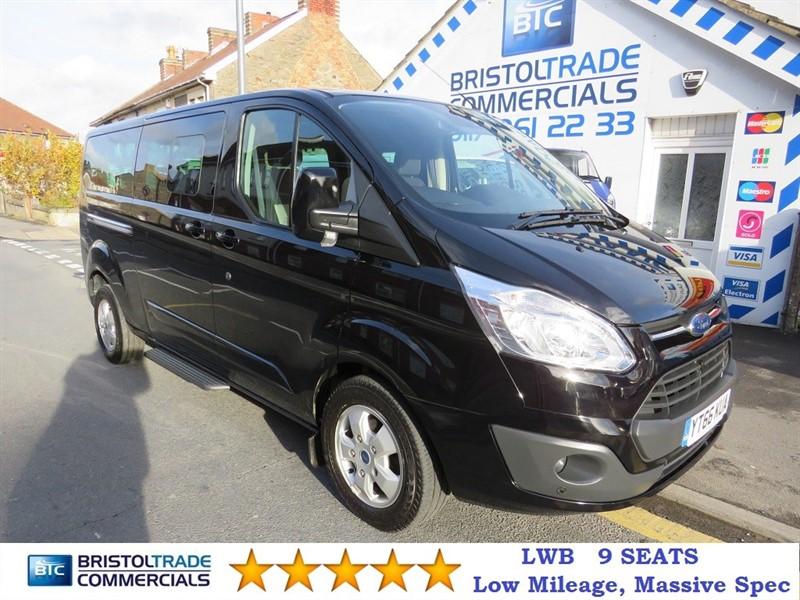 used Ford Tourneo Custom Tourneo 310 TITANIUM 9 Seater in bristol