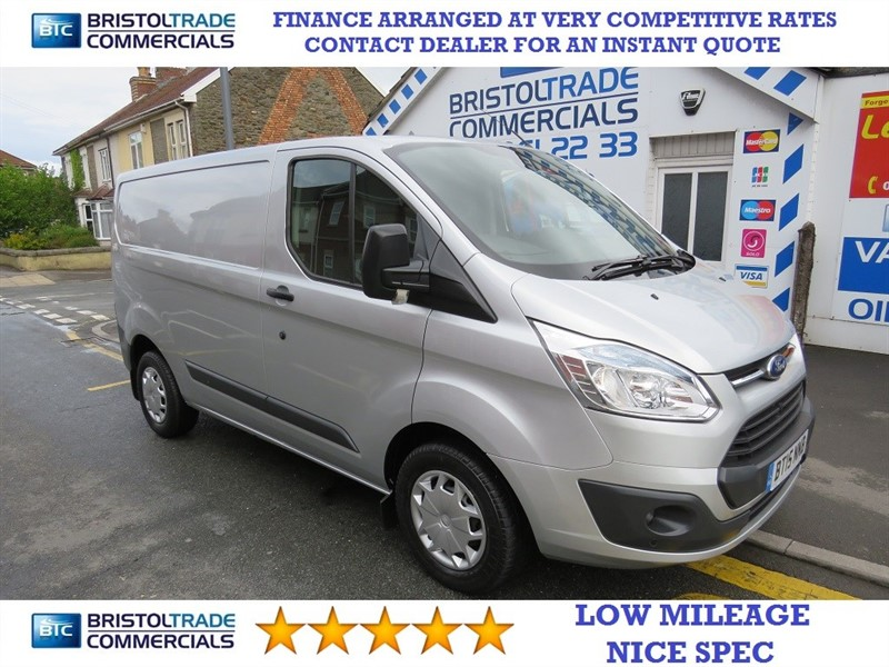 used Ford Transit Custom 270 TREND LR P/V in bristol
