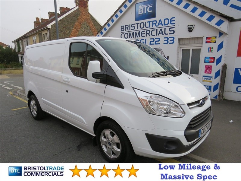 used Ford Transit Custom 290 LIMITED LR SWB in bristol