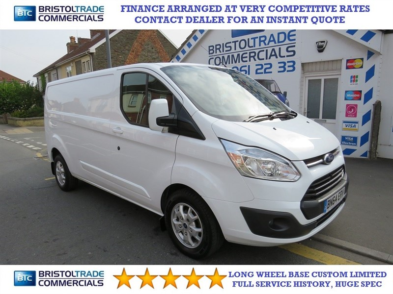 used Ford Transit Custom 290 LIMITED LR P/V in bristol