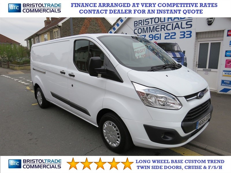 used Ford Transit Custom 310 TREND LR P/V in bristol