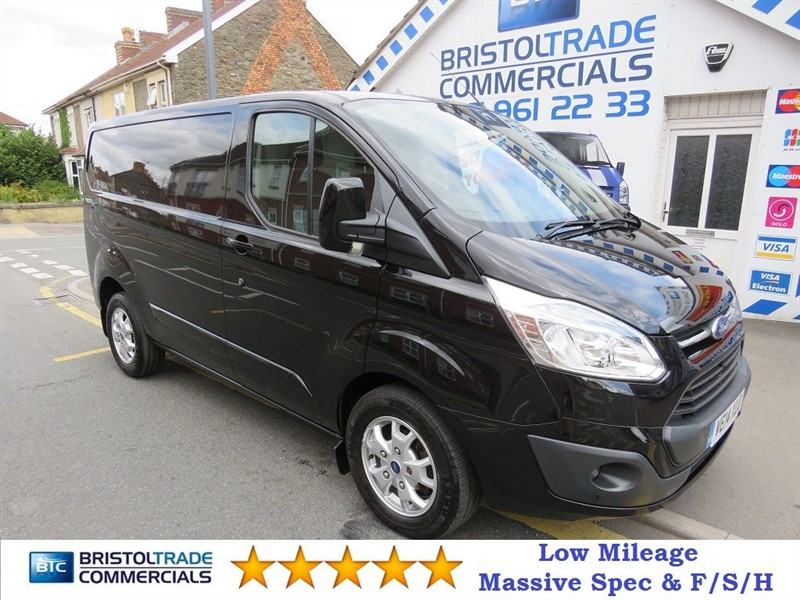 used Ford Transit Custom 270 LIMITED LR P/V in bristol
