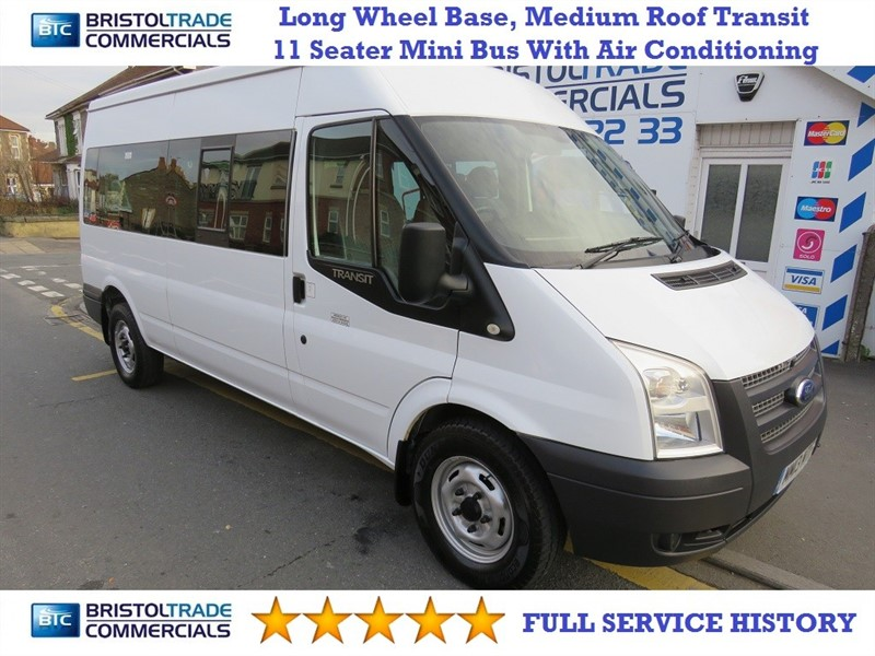 used Ford Transit 350 BUS 11 STR in bristol