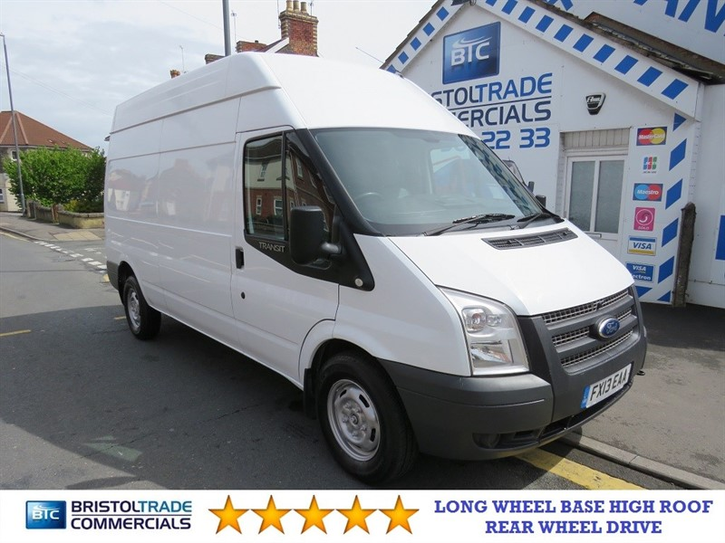 used Ford Transit 350 Long Wheel Base High Roof in bristol
