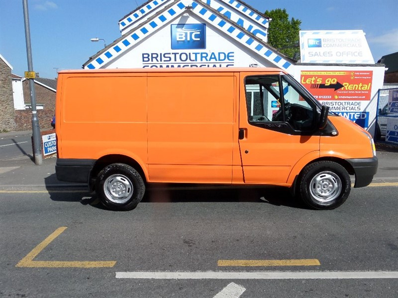 Used Orange Ford Transit For Sale