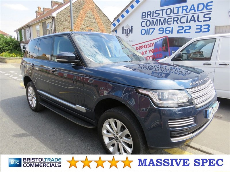 used Land Rover Range Rover SDV8 VOGUE SE in bristol
