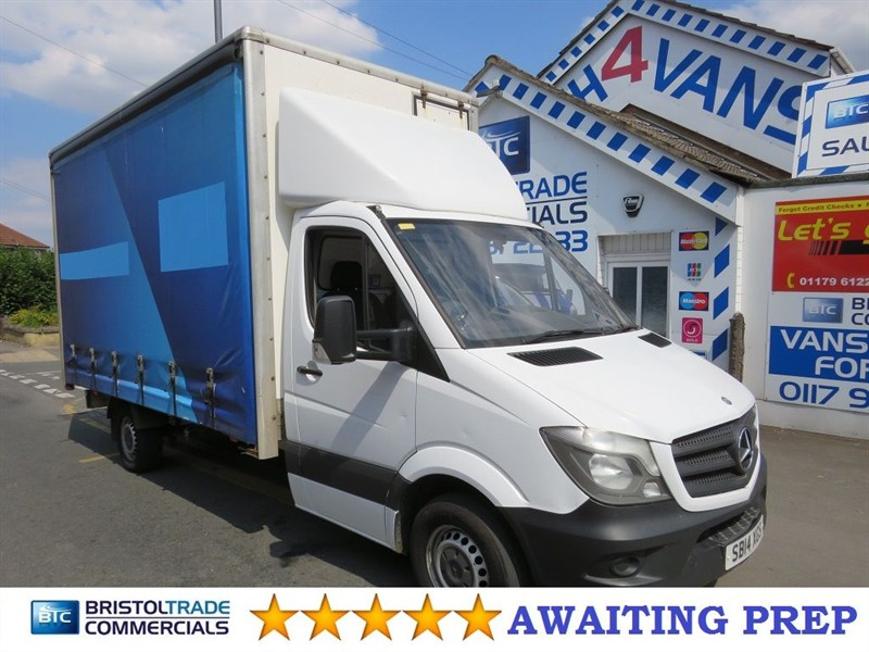 used Mercedes Sprinter 313 LWB Curtain Side in bristol