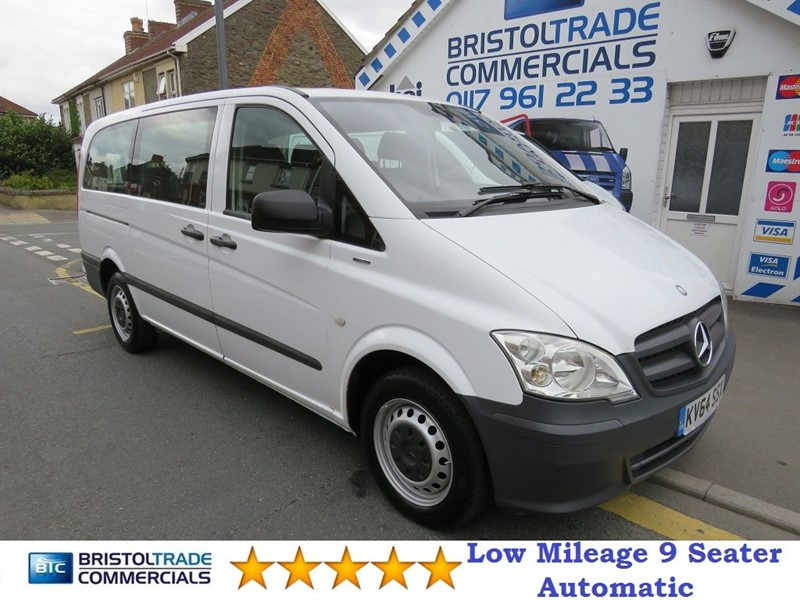 used Mercedes Vito 113 CDI TRAVELINER in bristol