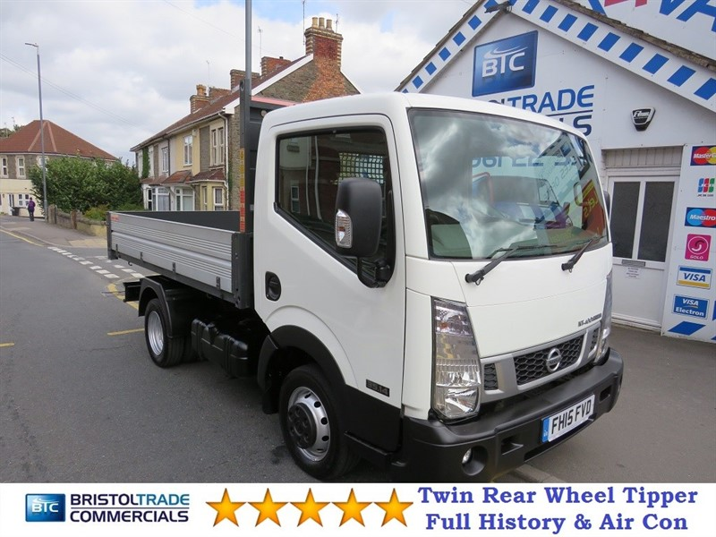 used Nissan Cabstar NT 400 DCI 35.14 TIPPER in bristol