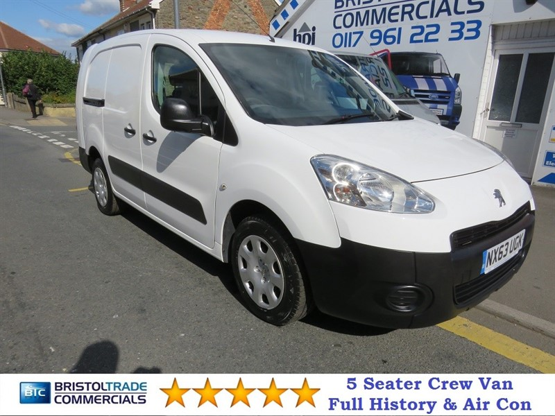 used Peugeot Partner HDI CRC in bristol